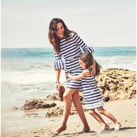 Mommy And Me Matching Summer Beach Dresses