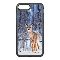 Winter Snow And Deer OtterBox Symmetry iPhone 7 Plus Case
