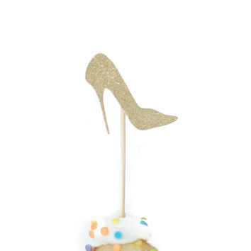 'Shoe Game' Mini Cake Topper - Pack of 5