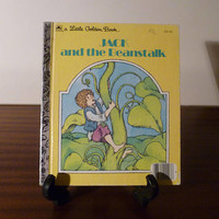 """Vintage 1973 Children's Book """"Jack and the Beanstalk - A little Golden Book / Kids Book / Great Condition"""