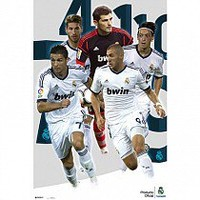 Real Madrid F.C. Poster Players 114