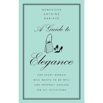 A Guide to Elegance, Non-Fiction Books