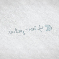 Smiling Moonlight / Pre-made Logo Design / Etsy Set, Social Media Profile Set / One Of A Kind Logo Design / Unique Full Brand Set.. and More