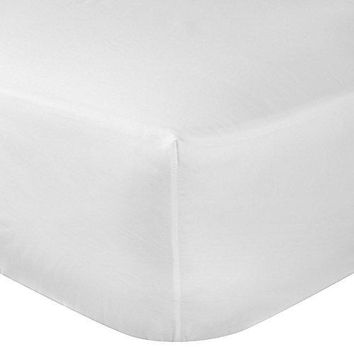120 Pcs TWIN SIZE WHITE 39X80+12 FITTED SHEET T-200 HOTEL GRADE