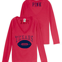 Houston Texans Long Sleeve Tee - PINK - Victoria's Secret