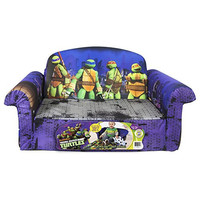 Marshmallow Children's Furniture - 2 in 1 Flip Open Sofa - Teenage Mutant Ninja Turtles