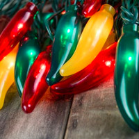 Festive Chili Pepper String Lights