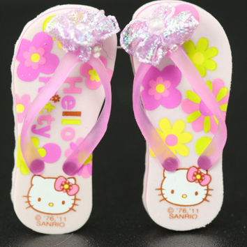 Peach Scented Hello Kitty Sandal Erasers