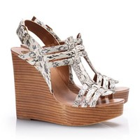 Leslie Wedge Sandal