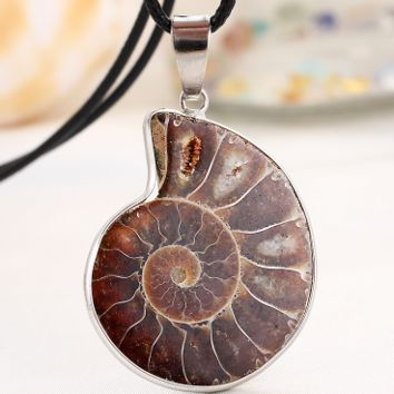 Snail Pendant Necklace