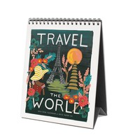 2016 Travel the World Desk Calendar by RIFLE PAPER Co.   Made in USA
