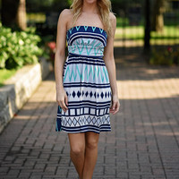 Summer in Memphis Dress - Green
