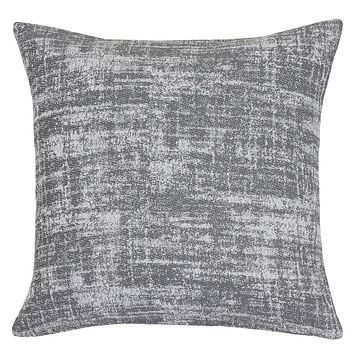 Belgian Heavyweight Home Decor Fabric Gray White Decorative European Sham Pillow Cover