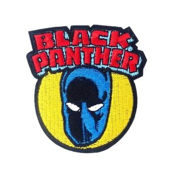 2018 Limited Parches Beast Marvel Comics Avenger Black Panther Patches Superhero Movie Tv Series Costume Applique Iron On Patch