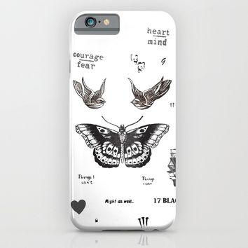Tattoo à la Harry iPhone & iPod Case by Kate & Co.   Society6