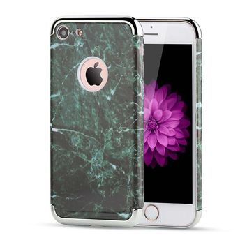 2 in 1 Marble iPhone Cases