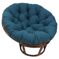 Blazing Needles 48-inch Solid Twill Tufted Papasan Chair Cushion | Overstock.com Shopping - The Best Deals on Chair Pads