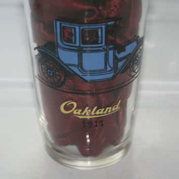 Vintage Automobile Glass,Vintage 1911 Oakland 1910 Buick