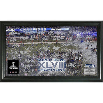 Seattle Seahawks Super Bowl 48 Champions inCelebrationin Signature Grid
