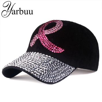 Fashion Baseball Caps For Men Women Adjustable Cotton Cap Rhinestone Denim Cap