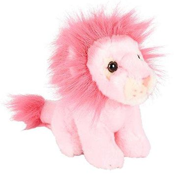 "Wildlife Tree 7"" Stuffed PINK Zoo Animal Plush Floppy Animal Heirloom Brights Collection"