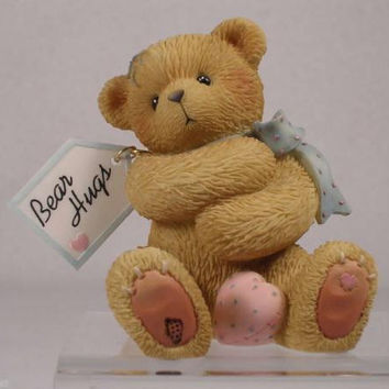 """ Diana ""  Bear Hugs Figurine - By Enesco"