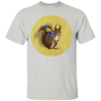 squirrel with lollipop T-Shirt