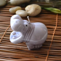Hippo Candle