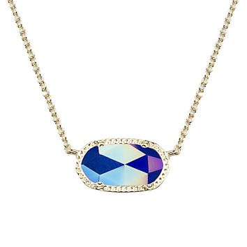 Elisa Pendant Necklace in Iridescent from Kendra Scott Winter