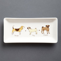 Here Comes Puggle Tray