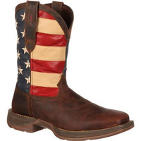 Rebel by Durango Patriotic Pull-On Western Boot