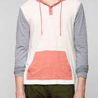 BDG Coloblock Pullover Henley Sweatshirt - Urban Outfitters