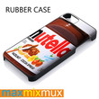 Nutella iPhone 4/4S, 5/5S, 5C, 6/6 Plus Series Rubber Case