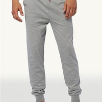 Heathered Grey Terry Jogger