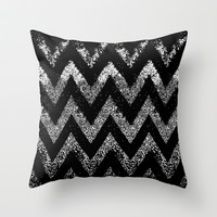 life in black and white  Throw Pillow by Marianna Tankelevich