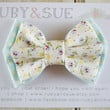 Spring Bow, Double Layer Bow Clip, Baby Headband, Photography Prop