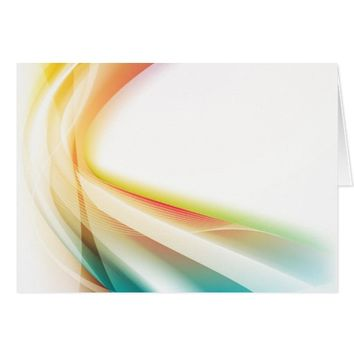 Abstract Swirl 2 (landscape) Card
