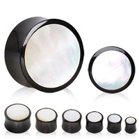 Mother of Pearl Plugs (2 gauge - 1 inch)