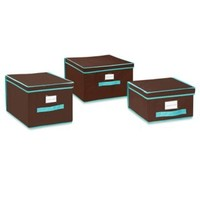 The Macbeth Collection Storage Box Assortment in Chocolate