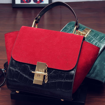 Sadie Suede Mini Handbag