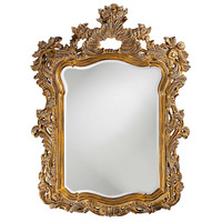 Turner Antique Gold Mirror