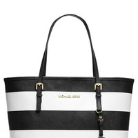 MICHAEL Michael Kors 'Small Jet Set' Saffiano Leather Travel Tote