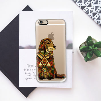 Golden Retriever transparent iPhone 6s case by Sharon Turner | Casetify