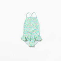 Frill swimsuit