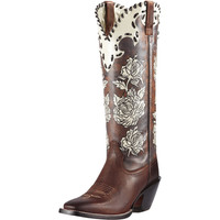 Women's Callie Boot - Sassy Brown/Cream Carnation