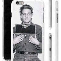 Young Elvis Presley Mugshot Mug Shot Apple iPhone 4 5 5s 6 + Plus Phone Case Cover from Phone Fluff