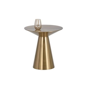 CARL YELLOW GOLD SIDE TABLE
