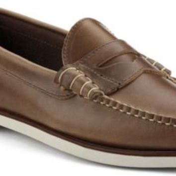 Sperry Top-Sider Authentic Original Penny Loafer by Made in Maine NaturalLeather, Size 7M  Men's Shoes