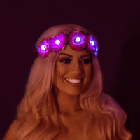Light Up LED Flower Crown