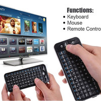 2.4GHz Wireless Air Fly Mouse & Keyboard (Black)